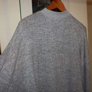Topshop brushed batwing sweater