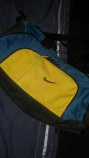 Yellow & Green Nike Bag