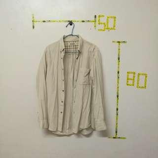 🚚 UNIQLO 燈芯絨襯衫外套