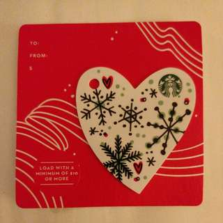Limited Edition Starbucks Card - Christmas