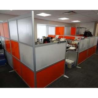 OFFICE CUBICLES PARTITION--KHOMI