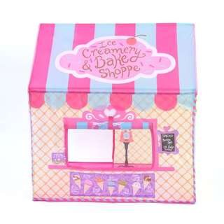 ICE CREAM AND CAKE SHOP PLAY TENT/HOUSE