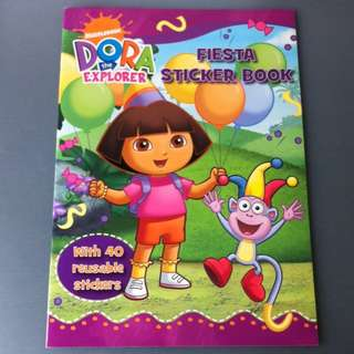 BN Dora Fiesta Sticker Book