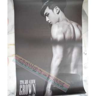 [READY STOCK]2PM NICHKHUN KOREA OFFICIAL POSTER 1PC SHIP USING TUBE (PRICE NOT INCLUDE POSTAGE)(PLEASE READ DETAILS FOR MORE INFO)