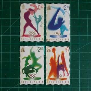 1996 阿特蘭大奧運會 新票一套