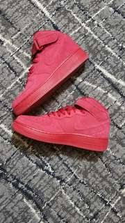 Air Force 1 Mid Red