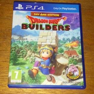 Kaset BD PS4 ORIGINAL Game Dragon Quest Builder
