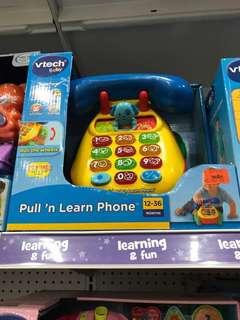 VTech pull n learn phone