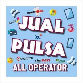 JUAL PULSA ALL OPERATOR