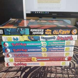 Naruto, Pokemon, Omnibus