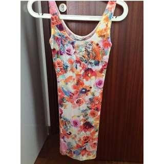 Miss Selfridge Floral Tank Dress