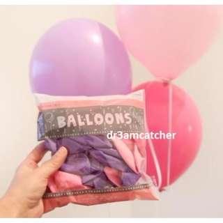 Sweet Pink & Purple balloons