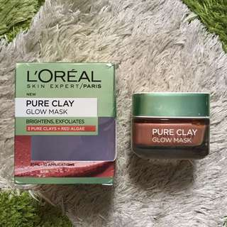 Loreal Pure Clay Glow Mask