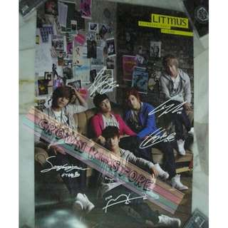 [READY STOCK]FTISLAND F.T ISLAND KOREA OFFICIAL POSTER 1PC SHIP USING TUBE (PRICE NOT INCLUDE POSTAGE)(PLEASE READ DETAILS FOR MORE INFO)