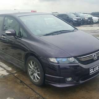 HONDA ODC 2.4(A) 2008 FULL SPEC
