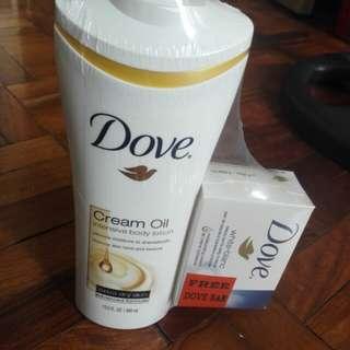 Dove Cream Oil Intensive Body Lotion