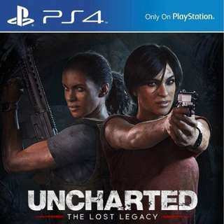 BNIB Uncharted The Lost Legacy
