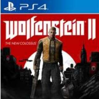 BNIB Wolfenstein II The New Colossus PS4