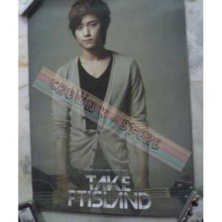 [READY STOCK]FTISLAND F.T ISLAND JAEJIN KOREA OFFICIAL POSTER 1PC SHIP USING TUBE (PRICE NOT INCLUDE POSTAGE)(PLEASE READ DETAILS FOR MORE INFO)