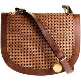 Stella McCartney alexa woven shoulder bag