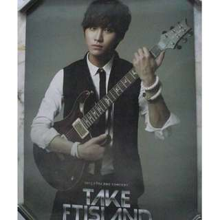 [READY STOCK]FTISLAND F.T ISLAND SEUNHYUN KOREA OFFICIAL POSTER 1PC SHIP USING TUBE (PRICE NOT INCLUDE POSTAGE)(PLEASE READ DETAILS FOR MORE INFO)