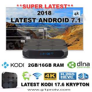 INSTOCK ANDROID 7/ ANDROID TV BOX MOON TV BUNDLE PACKAGE