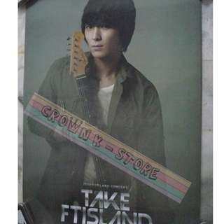 [READY STOCK]FTISLAND F.T ISLAND JONGHOON KOREA OFFICIAL POSTER 1PC SHIP USING TUBE (PRICE NOT INCLUDE POSTAGE)(PLEASE READ DETAILS FOR MORE INFO)
