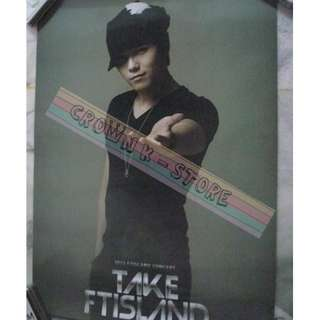 [READY STOCK]FTISLAND F.T ISLAND HONGGI KOREA OFFICIAL POSTER 1PC SHIP USING TUBE (PRICE NOT INCLUDE POSTAGE)(PLEASE READ DETAILS FOR MORE INFO)