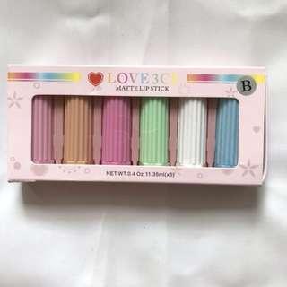 3ce love makeup kit