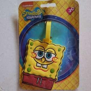 BN Spongebob Bag Tag