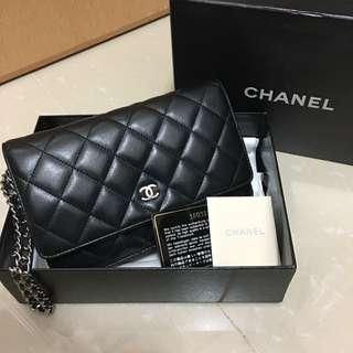 Chanel WOC 銀鏈