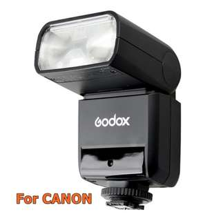 [BN] Godox TT350C Mini TTL Flash for Canon Cameras