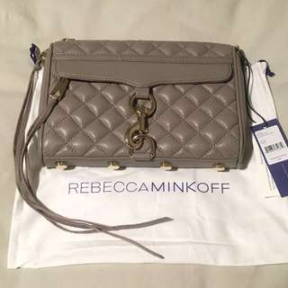 NWT Authentic Rebecca Minkoff Quilted Mini M.A.C