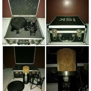 Mic recording ISK RM 8