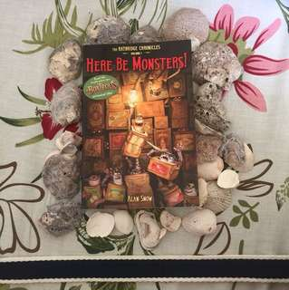Here Be Monsters! (Introducing The BoxTrolls) by Alan Snow