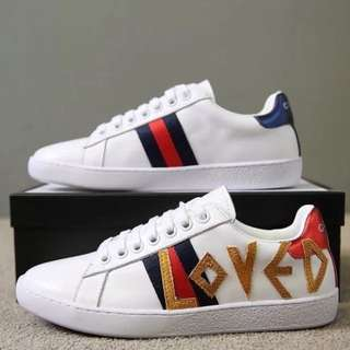 GUCCI 1:1 PREMIUM QUALITY LOVED ACE SNEAKERS