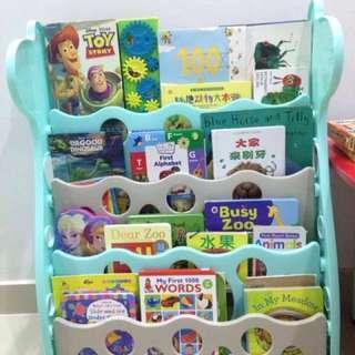 Kids Bookshelf 4 Tier / Book Rack
