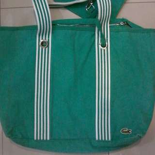 Lacoste big tote bag