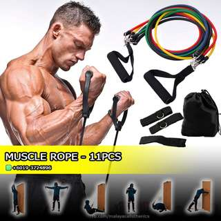 MUSCLE ROPE 10 in 1 WORKOUT