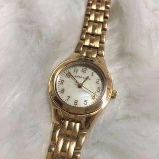Authentic Anne Klein Rose Gold Watch