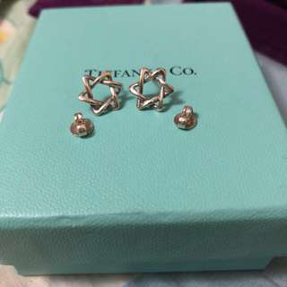 絕版 罕有 Tiffany & Co. Star of David earrings Tiffany 大衛星 耳環 earring 心 圓牌 手鏈 pandora