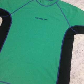 Original Speedo Endurance Rash Guard (Green)