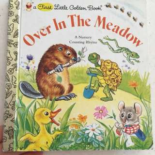 Little golden books - over in the meadow.