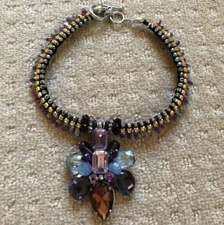 New Pretty Necklace Choker Crystal bought $139