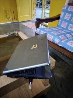 Compaq duo core laptop
