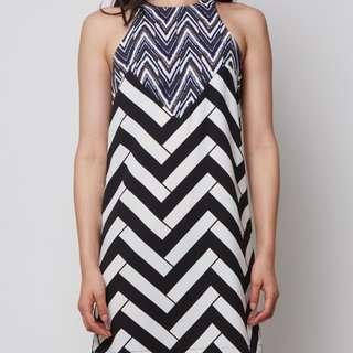 MDS Imogen Printed Dress (M)
