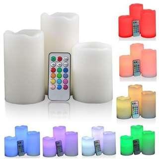 luma candles 12 Color LED Candle Light Remote Control