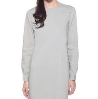 Love, Bonito Zotia Shirt Dress in Grey
