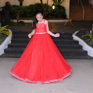 Michael Leyva Red Gown for rent