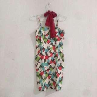 Dress + Scarf